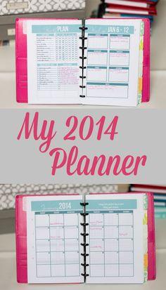 Super Sweet Life: My 2014 Planner