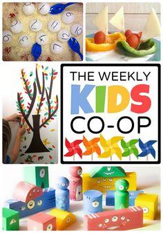 Kid-Friendly Fun with The Weekly Kids Co-Op Link Party - #kids #parenting #kbn #binspiredmama