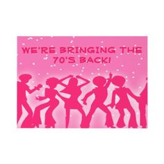 Pink Disco Theme 70's Party Custom Invitations from http://www.zazzle.com/disco+ball+invitations