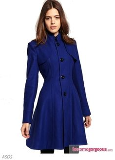 Fit and Flare Coat With Collar - this is lovely...