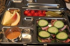 Paleo School Lunch Ideas- feed your kids healthy food! :) And they looked pretty good for adults, too.