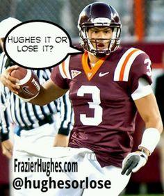 Logan Thomas is one of the best college quarterbacks. - Hughes it or Lose it? #Hokies #vt #loganthomas #quarterback