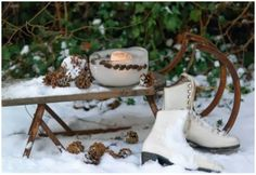winter decorations outside - Google zoeken