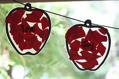 """Fruit of the Spirit"" Apple Garland"