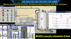 Advanced industrial controls training with PLC Simulator