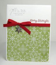 Good Greetings Snowflake Card