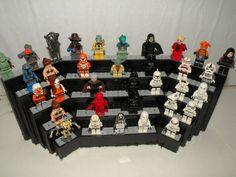 Lego Risers! Great idea.