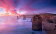Australian sunset.