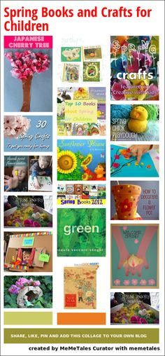 Spring Books and Crafts