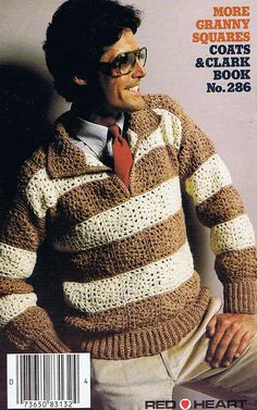 Granny Square Clothing Crochet Pattern by VintagePatternPlace