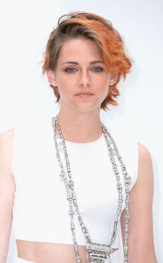 ¡Kristen Stewart new look!