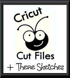 Cricut Inspired Scrapbook Layouts: Sketch Cricut CUT Files