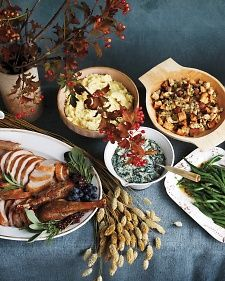 Thanksgiving Wisdom - Martha Stewart Food