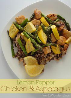 Chicken and Asparagus Quick Dinner Sauté - WonkyWonderful