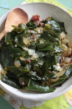 How to cook tender Collard Greens