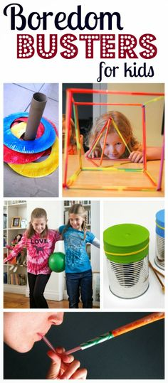 25 Cheap to FREE boredom busters to keep kids having fun and make mom's day easier!