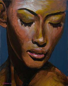 Beautiful portrait painting by John Markese.(com)