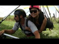 Wicked Hang Gliding Video - 4 Go Pros Mounted with 2 HD cameras catching the ground action - Extreme Sports