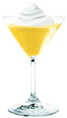 Pinnacle Heaven  1 part Pinnacle Cake  1 part Pinnacle Whipped  1 part Pineapple Juice  1 part Orange juice.   Shake with ice and strain into a chilled martini glass. Top with a dollop of whipped cream.