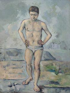 The Bather, Paul Cézanne