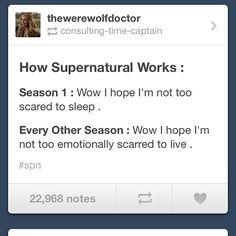 Supernatural progression