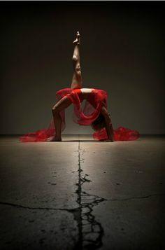 Photography by RJ Muna. #rj_muna #photography #women #arch #red #skin #light #legs #dancing #dancers #balance