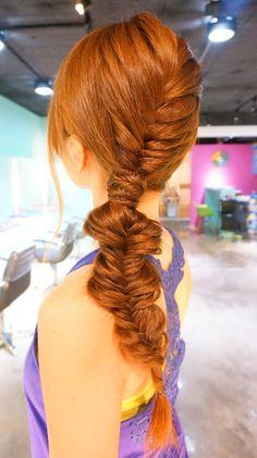Fishtail RULeR Hair...