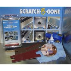 Scratch-B-Gone Stainless Steel Scratch Repair Kit - Amazon.com