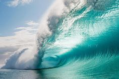 Clark Little makes the most amazing wave photo's. Every one is a precious gem to look at. You will be awed just thinking of the moment he took that photo. Check out his website http://www.clarklittlephotography.com
