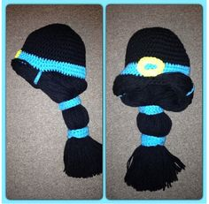 Princess Jasmine crochet hat. Disney princesses.