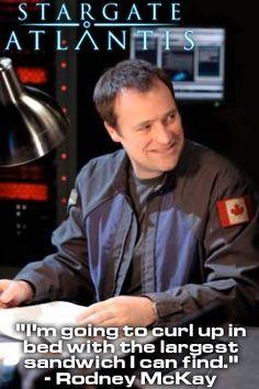 Posted by Stargate Atlantis  Stargate Atlantis- Rodney McKay
