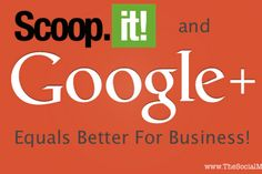 Scoop.it Integrates Google Authorship and Google+ Page Support