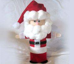 Pringles can Santa craft