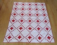 quilt wonder, quilt graphic, red cross, cross quilt, antiqu quilt