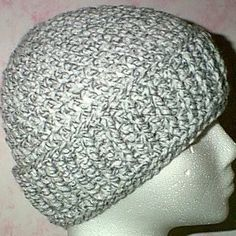 Crochet Man's Post Stitch Cap - Tutorial
