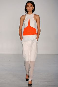 Dion Lee SS13 #LFW