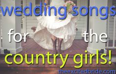 wedding songs for country girls