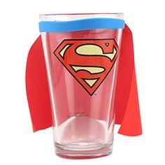 Superman Caped Pint Glass -