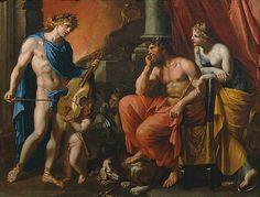 """""""Orfeo en el Hades""""  de François Perrier.  Jorge A. Rizo"""