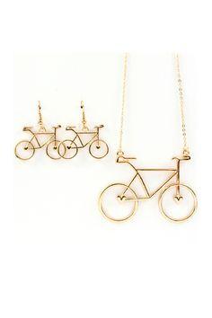 bicycles, park ride, bike rides, chanel jewelri, design jewelri, beauti, ride pendant, bicycl weather, fashion necklace