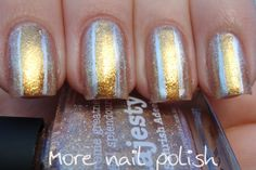 piCture pOlish 'Majesty' features in this mani creation by More Nail Polish!  Buy on-line now:  www.picturepolish.com.au