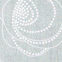 Printed Cotton Peony Dots  White on Natural  GorgeousFabrics.com