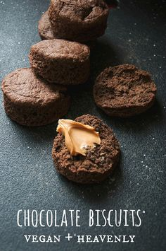 Chocolate, Vegan Biscuits -#vegan #glutenfree #cleanfood #healthy #healthysurprise #nutrition #soyfree #whatveganseat