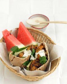 Tandoori-Style Chicken Burgers Recipe