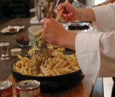 Three-Cheese Baked Pasta Recipe   House & Home