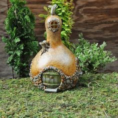 gourd fairy houses | Gourd fairy house | Fairies & wishes & dreams