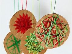 Pure and Noble: Reduce, Reuse, Recycle: Cardboard Christmas