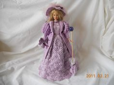 barbie clothes patterns free crochet | How to Make Free Barbie Crocheted Clothes | eHow.com