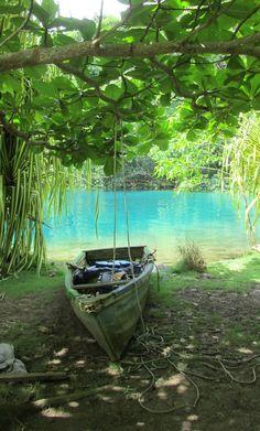 the beautiful Blue Lagoon..Jamaica