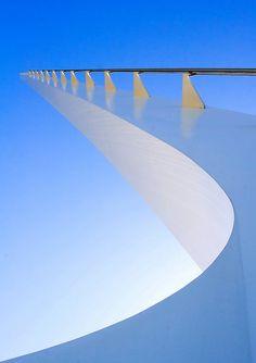 Sundial Bridge in California